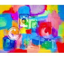 Old Camera Abstract Photographic Print