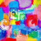 Old Camera Abstract by susan stone