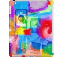 Old Camera Abstract iPad Case/Skin