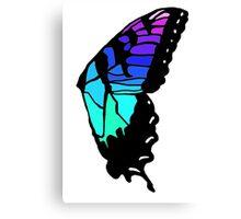 Brand new eyes' butterfly wing inspired fan art Canvas Print