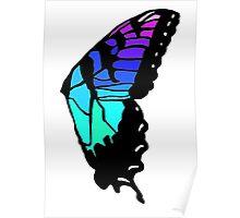 Brand new eyes' butterfly wing inspired fan art Poster