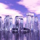 Crystal Stonehenge by Walter Colvin