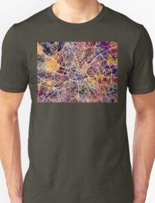 Manchester England Street Map Unisex T-Shirt