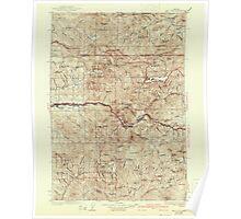 USGS Topo Map Oregon Mill City 283208 1929 125000 Poster