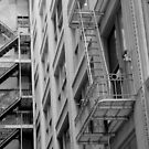 Fire Escapes in San Francisco by ochfish