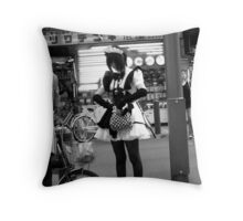 Personal Maid  Throw Pillow