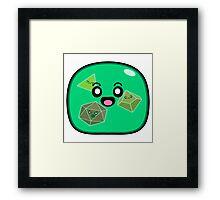 epic! Gelatinous Cube - Jelly Pattern Framed Print