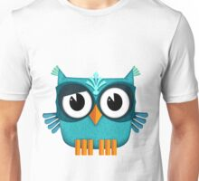 Cute Owl emerald Unisex T-Shirt