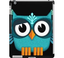Cute Owl emerald iPad Case/Skin