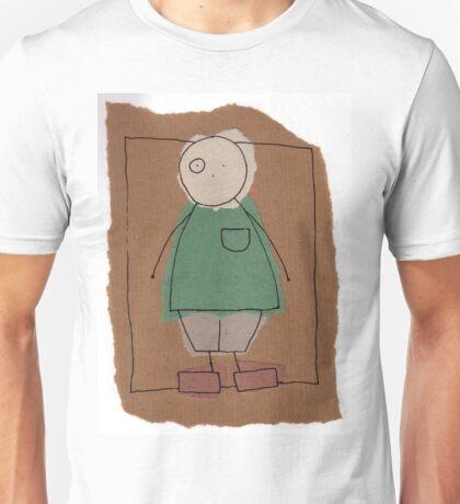 Brown paper boy Unisex T-Shirt