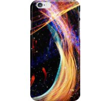 Fullerton Lights in Space iPhone Case/Skin