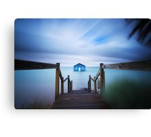 Crawley Boat Shed, Perth Canvas Print
