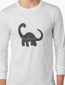 Herbivore - Dinosaur  Long Sleeve T-Shirt