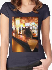 Night at the cas Women's Fitted Scoop T-Shirt