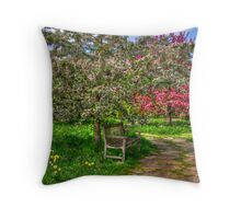 A Place in the Shade Throw Pillow