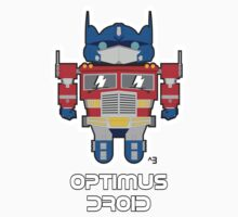 Optimus Droid Kids Clothes
