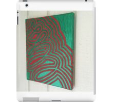 Whimsical Christmas Ribbon iPad Case/Skin