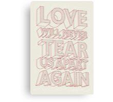 loove Canvas Print