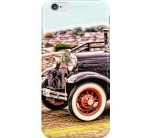 Zipping Through Town iPhone Case/Skin