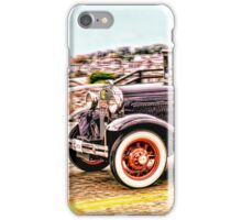 Zipping Through Town iPhone Case/Skin