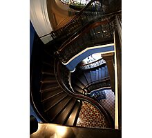 Stair case. Queen Victoria building - Sydney Photographic Print