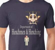 Academy of Mad Sciences - Dept. of Henchmen & Henching Unisex T-Shirt