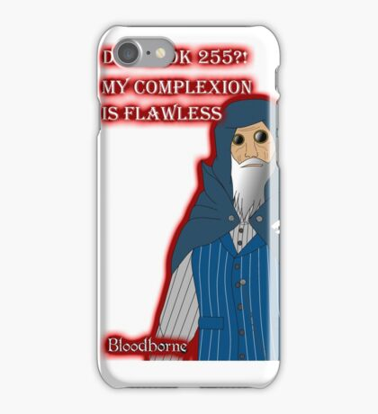 My complexion! - Gamble Plays iPhone Case/Skin