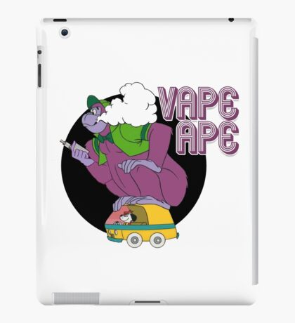 Vape Ape iPad Case/Skin