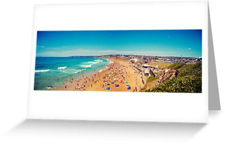Bar Beach by Leighton Wallis