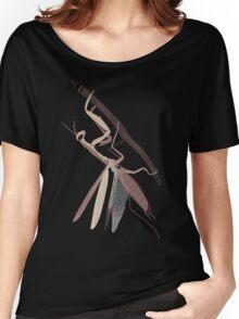 Mantis Religiosa Women's Relaxed Fit T-Shirt