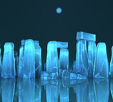 Crystal stonehenge (2) by Walter Colvin
