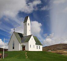 Saurbær Church by Þórdis B.