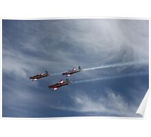 RAAF Fly by, Adelaide Clipsal 500 Poster