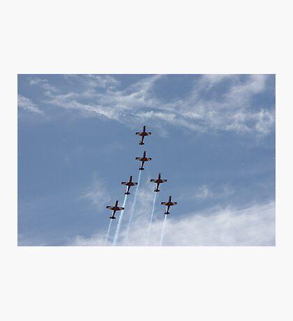Follow me Boys, RAAF Planes, Adelaide. Photographic Print