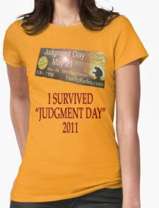 Judgment Day Womens Fitted T-Shirt