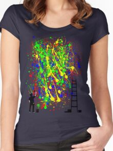 Night Artist Women's Fitted Scoop T-Shirt