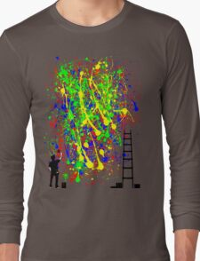 Night Artist Long Sleeve T-Shirt
