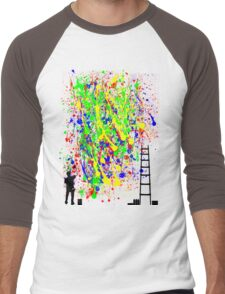 Night Artist Men's Baseball ¾ T-Shirt