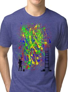 Night Artist Tri-blend T-Shirt