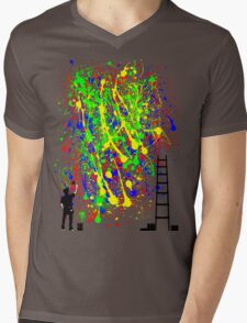 Night Artist Mens V-Neck T-Shirt