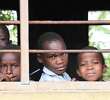 Uganda children by Ingrid *