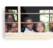Uganda children Metal Print