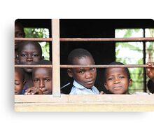Uganda children Canvas Print