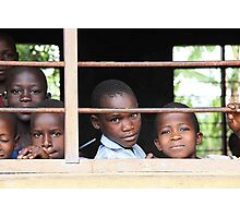 Uganda children Photographic Print