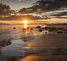 Sunset West coast of Scotland by Sam Smith