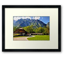 Country Feeling at Berchtesgaden Framed Print