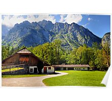 Country Feeling at Berchtesgaden Poster