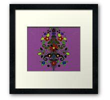 Funky Garden Framed Print
