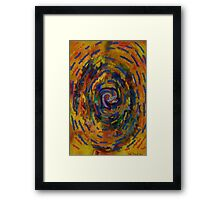 Confusion- Abstract digital  Framed Print