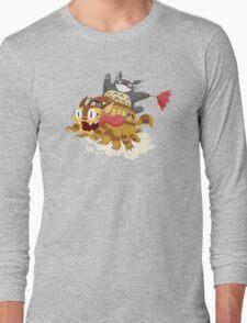 Cat Fink Bus Long Sleeve T-Shirt